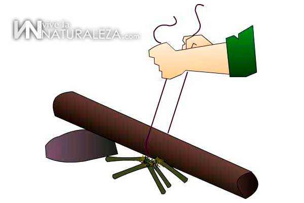 Que tecnicas utilizaron los primitivos para hacer fuego