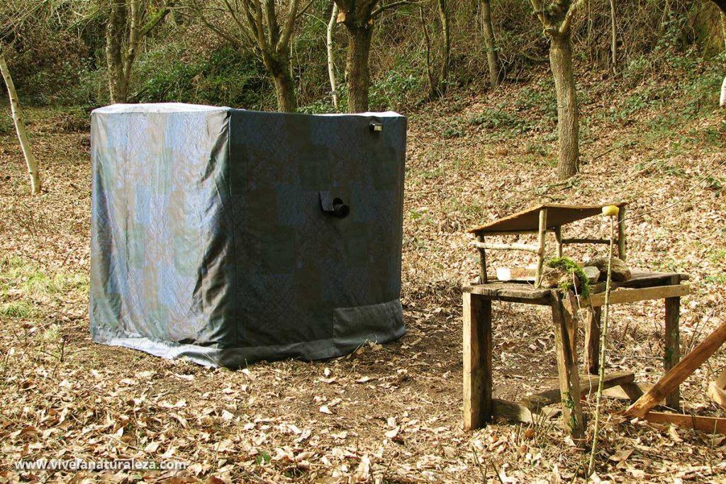 Como construir un hide: Las mejores técnicas para fabricar un escondite casero fotográfico para sacar fotos de aves