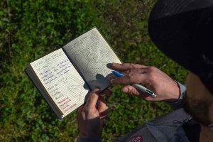 El cuaderno de campo es la principal herramienta científica de cualquier naturalista o ecólogo. Aquí tienes modelos y ejemplos para que hagas tu propio cuaderno de campo
