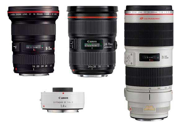 Objetivos para fotografias de paisajes