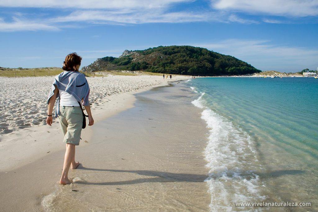 Visita el Parque Nacional de las Islas Atlánticas, las islas Cíes en Vigo y la isla de Ons. Viaja en barco y disfruta de unas vacaciones inolvidables en un paraíso natural de Galicia
