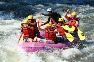 Deportes acuáticos de aventura