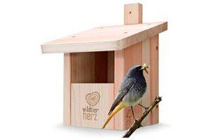 casitas para pájaros jardín