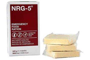 racion de comida de supervivencia para emergencias